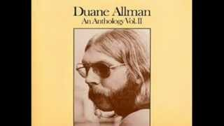Duane Allman  -- No Money Down (Anthology Volume 2)