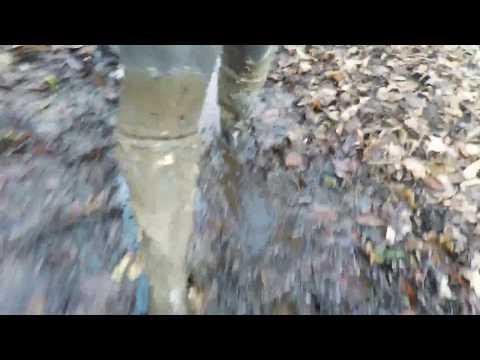 Hunter Boots - A Muddy Rinse