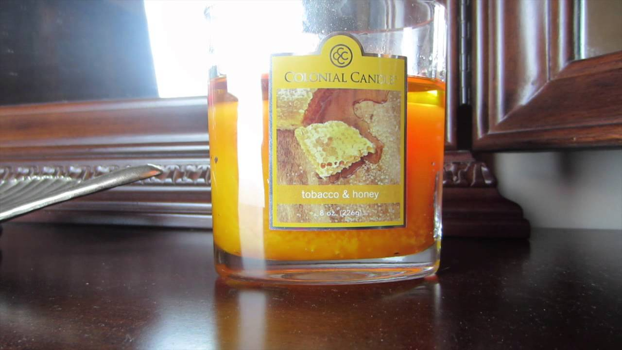 colonial candle tobacco u0026 honey review