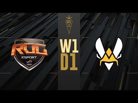 LFL été 2019 - ROG vs VIT - W1D1