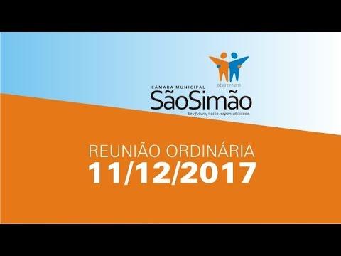 REUNIAO ORDINARIA 11/12/2017