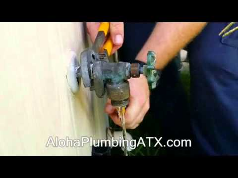 How to Replace a Hose bib On Outside of Your House - YouTube