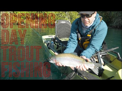 Fly Fishing For Trout On Opening Week With Hobie PA360 Pro Angler Pedal Drive Fishing Kayaks