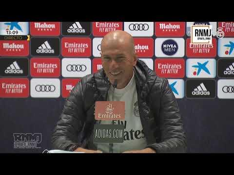 Rueda de prensa de ZIDANE previa al Real Madrid - Eibar (13/06/2020)