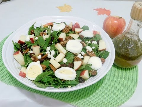 fall-salad-with-apple-cider-vinaigrette-recipe -episode-208