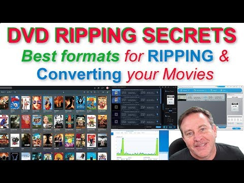 🔴BEST WAY To RIP DVDs And BEST Video Formats For STREAMING 🔴