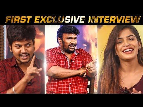 Vijay Sethupathi, Jai & Sanchita recreate Moondram Pirai epic scene