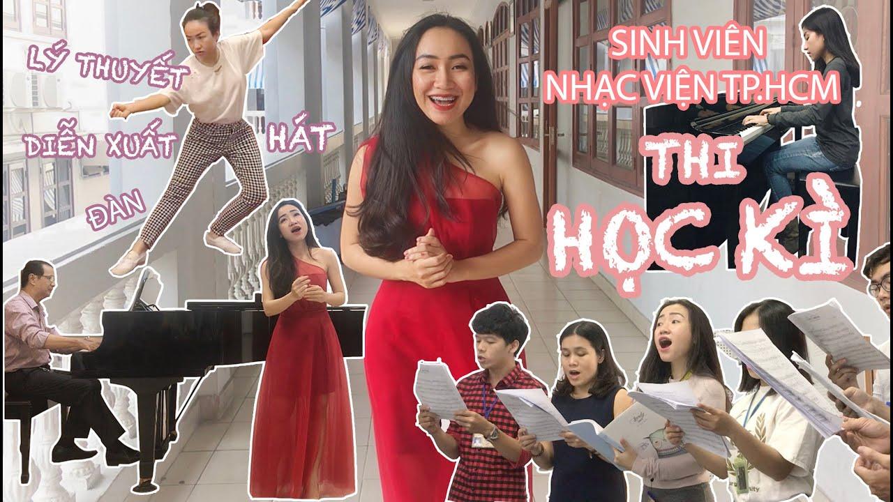 SINH VIÊN NHẠC VIỆN THI HỌC KÌ | KHÓ hay DỄ? | Vlog#12 | PHUONG NGUYEN