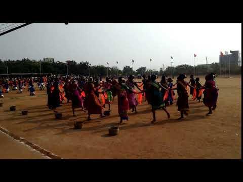 School Student Showcasing Their Talent On Republic Day (26-01-2018)   Tamil Pesu