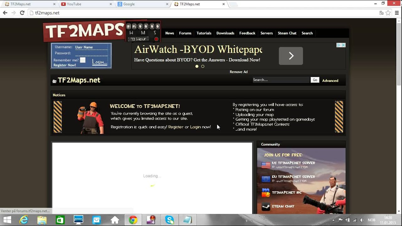 How to download tf2 maps