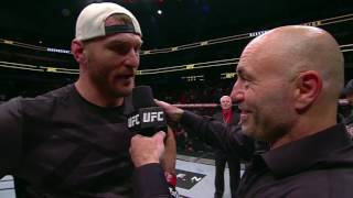 UFC 211: Stipe Miocic Octagon Interview