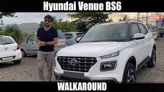 Hyundai Venue BS6 SX Walkaround   Hindi   MotorOctane