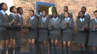 Seanamarena high school choir@ Senzokwetu School Choir Competitions