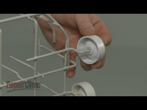 Lower Rack Roller - GE Dishwasher Repair