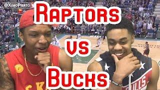 ATTENTION RAPTORS FANS!!!! RAPTORS VS BUCKS GAME 6 2017 NBA FULL HIGHLIGHTS AND REACTION!