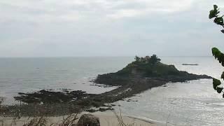 Hòn Bà, Vũng Tàu: thủy triều xuống để lộ ra lối đá bí ẩn (time lapse 40x)