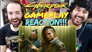 CyberPunk 2077 - GAMEPLAY REVEAL TRAILER - REACTION!!!