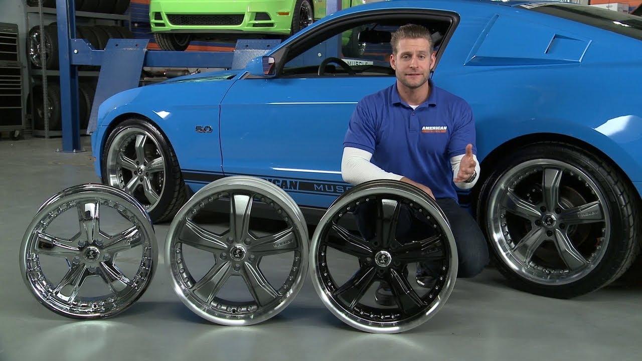 Mustang Shelby Razor Wheels Black Gunmetal And Chrome 05 13 Gt