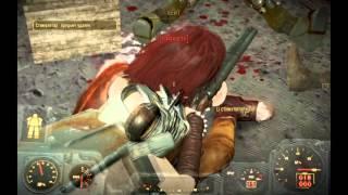 Fallout 4 Ядерная атака на убежище 95, пупс Тяжелое оружие .