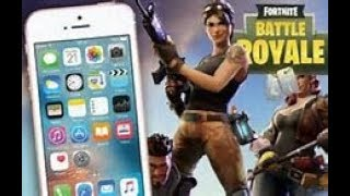HOW TO GET AND PLAY FORTNITE ON YOUR MOBILE DEVICE AND SKIP THE WAITING LIST!! (iPhone/Android) !