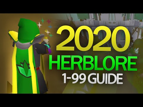 Theoatrix's 1-99 Herblore Guide (OSRS)