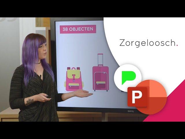 Indrukwekkende PowerPoint Presentatie Zorgeloosch | Portfolio | PPT Solutions