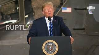 USA: Trump increases national defence budget to $716 billion