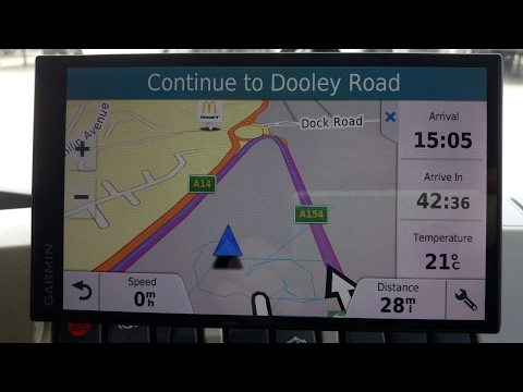 Garmin 61 YES arriving time, distance, actual time this is POSSIBLE to be on SCREEN