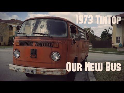 VW Bus (1973 TinTop) Restoration Part: 2 Plans for the Bus