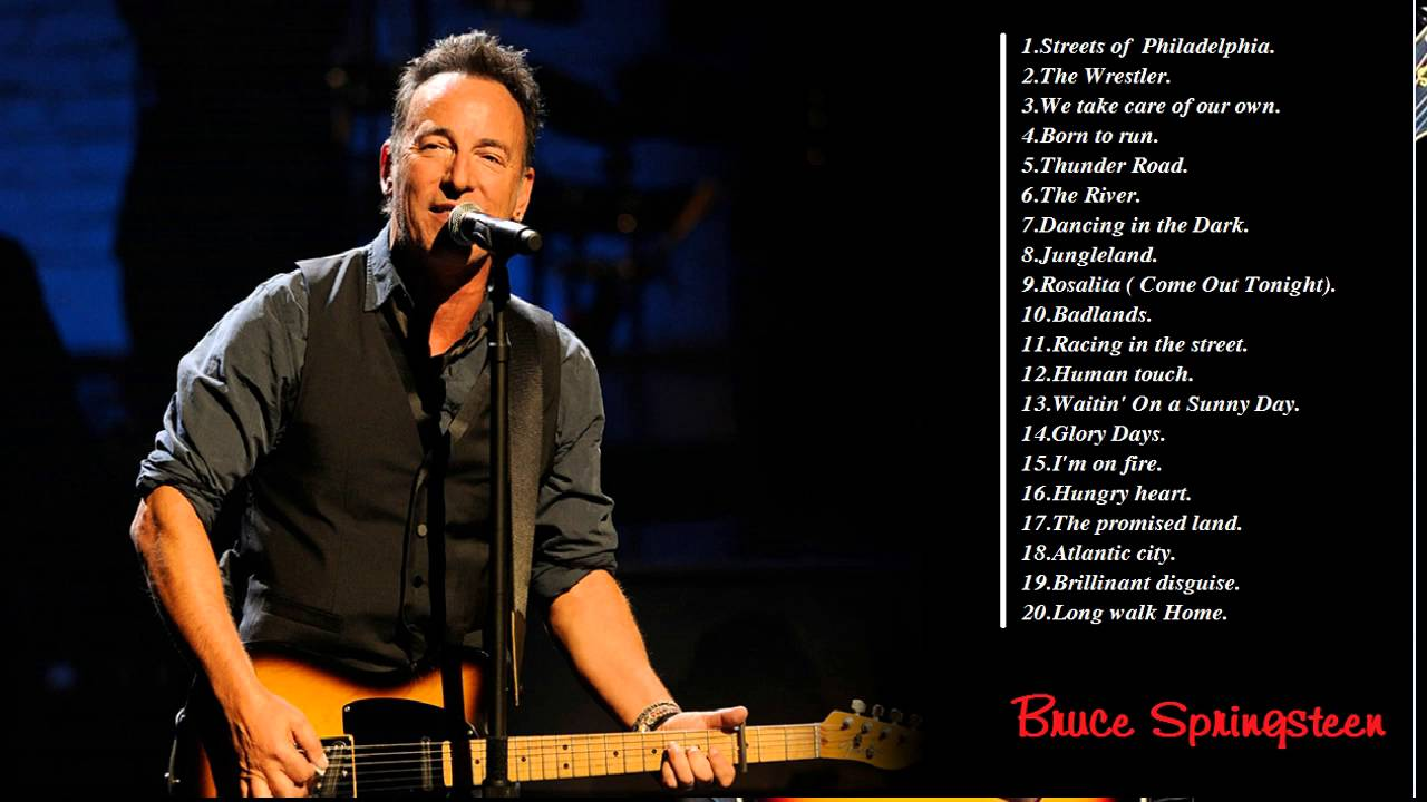 these songs of bruce springsteen bruce springsteen playlist youtube. Black Bedroom Furniture Sets. Home Design Ideas