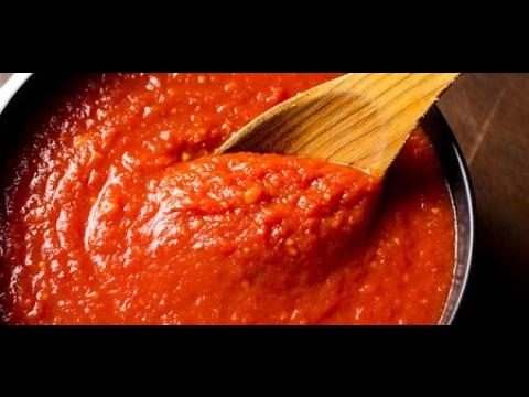 طريقة عمل معجون الطماطم في البيت