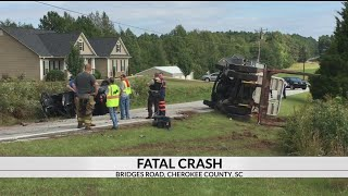 Fatal accident on Bridges Rd. in Blacksburg, SC