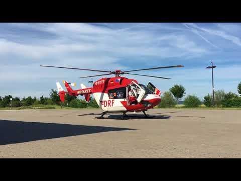DRF Rettungshubschrauber Start Christoph 53