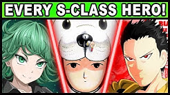 All 17 S-Class Heroes and Their Powers Explained! (One Punch Man)