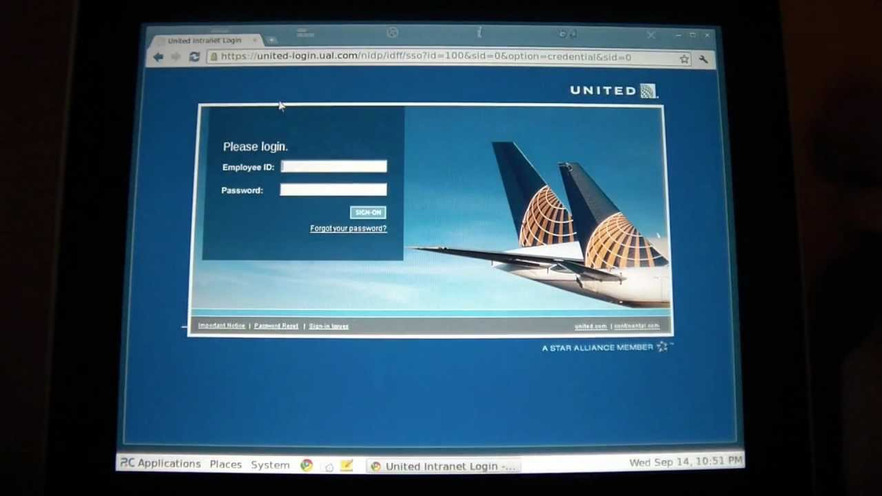AlwaysOnPC Site of the Day - United Airlines' Unimatic site from your iPad,  iPhone or Andriod