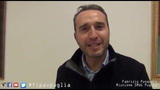04-03-2016: #fipavpuglia - Fabrizio Pasquali in Puglia con gli arbitri pugliesi