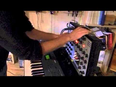 EMS AKS Synthi-Midi/CV Converter-AudioAid for Conservatorio Firenze-Player:Simone Lanari