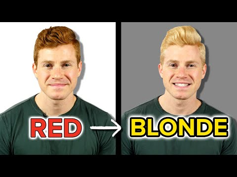 A Redhead Gets Blonde Hair For A Week