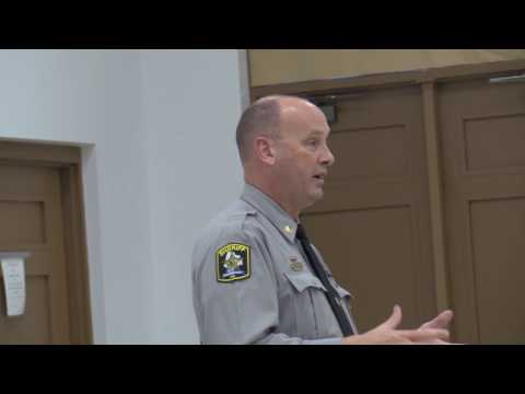 Part 1 Interim Edgecombe County Sheriff Office Discuss Community Watch