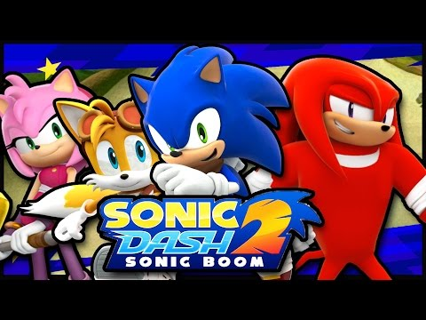Download And Play Sonic Dash 2: Sonic Boom For PC(Windows 7,8,8.1,10) For Free|| 2016|| *New* .