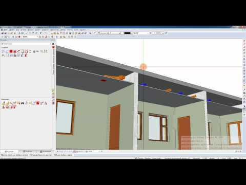 Allplan 2011 HVAC TRAINING 34   Ventilation   Architectural Section and 3D PDF