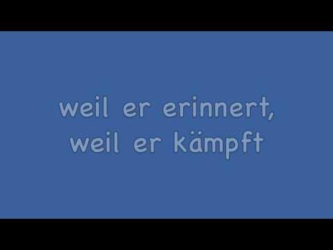 Herbert Grönemeyer - Mensch Lyrics HD