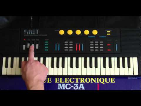 First MC-3A - music keyboard - review