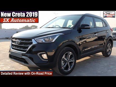Hyundai Creta Sx Automatic Detailed Review with On Road Price   Creta 2019 Sx Automatic