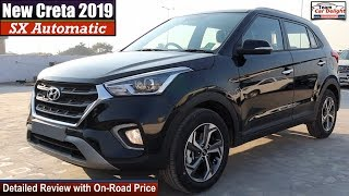hyundai Creta Sx Automatic Detailed Review with On Road Price  Creta 2019 Sx Automatic