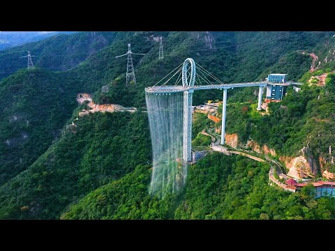 """Aerial China: Spending huge sums of money to build """"super toilets"""", this design is incredible"""