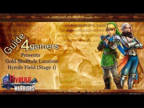 Hyrule Warriors Gold Skulltula Location Mission 1 Hyrule Field Youtube