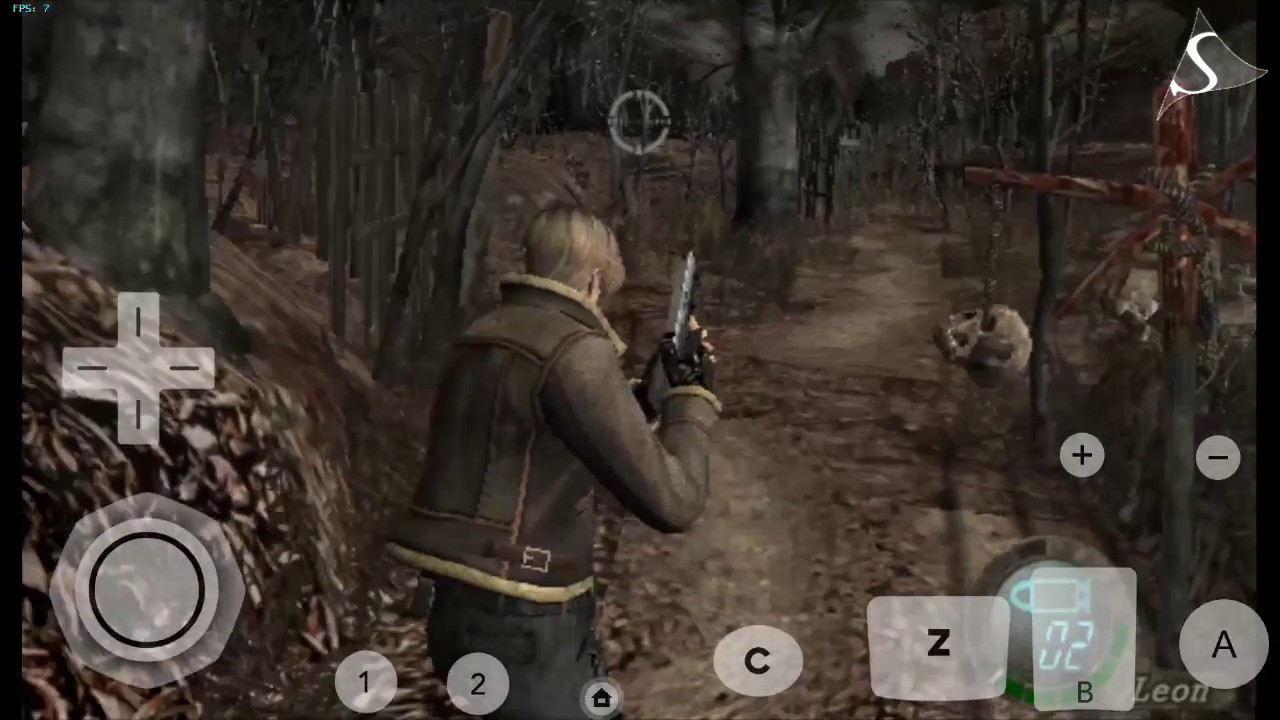 DOLPHIN EMULATOR ANDROID - RESIDENT EVIL 4 wii test