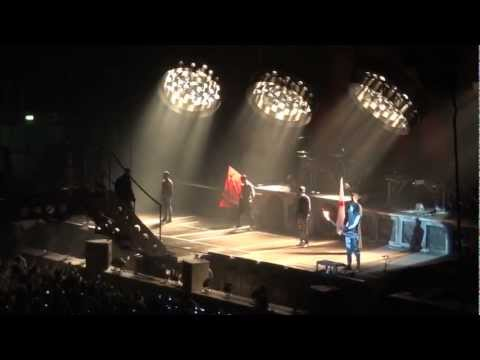 Rammstein - London 2012 - Intro And Sonne