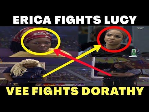 Download BBNaija 2020 Erica Fights Lucy & Vee Fights Dorathy    BBNaija Season 5 Lockdown